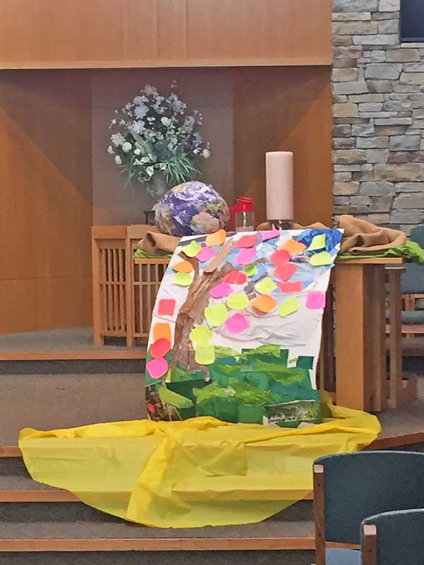 Earth Day Service