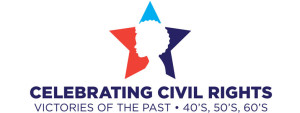 """Celebrating Civil Rights Victories of the Past"" logo"