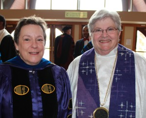 Dr. Nancy Howell and Rev. H. Sharon Howell