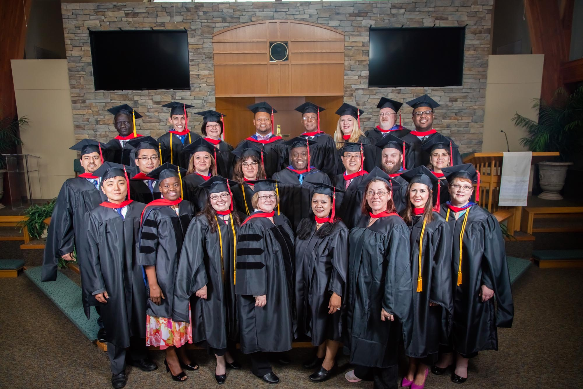 masters and doctoral grads 2016