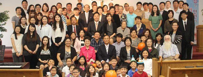 Rev. David Kim Congregation