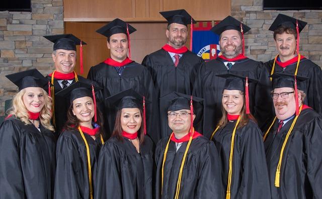 Photo of graduating seminary students at our Kansas City location