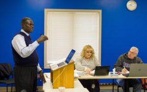 classroom, saint paul, dr. israel kamudzandu