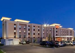 The exterior of Hampton Inn & Suites Overland Park, Kansas.