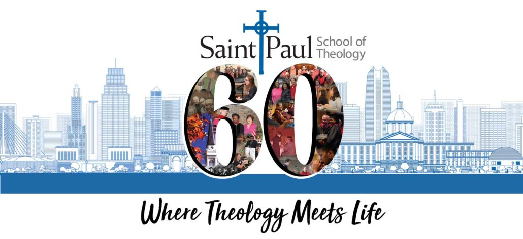 Kansas City landscape with logo for 60th Anniversary of Saint Paul School of Theology