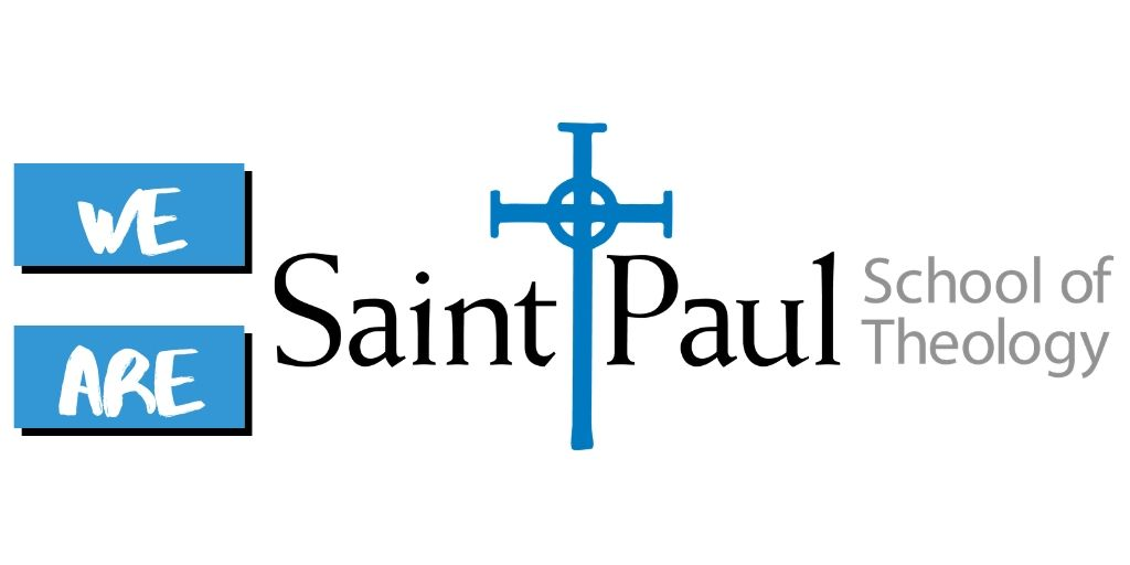 "logo reading ""We Are Saint Paul School of Theology"""