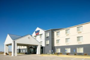 exterior of Fairfield Inn and Suites near Kansas City Airport