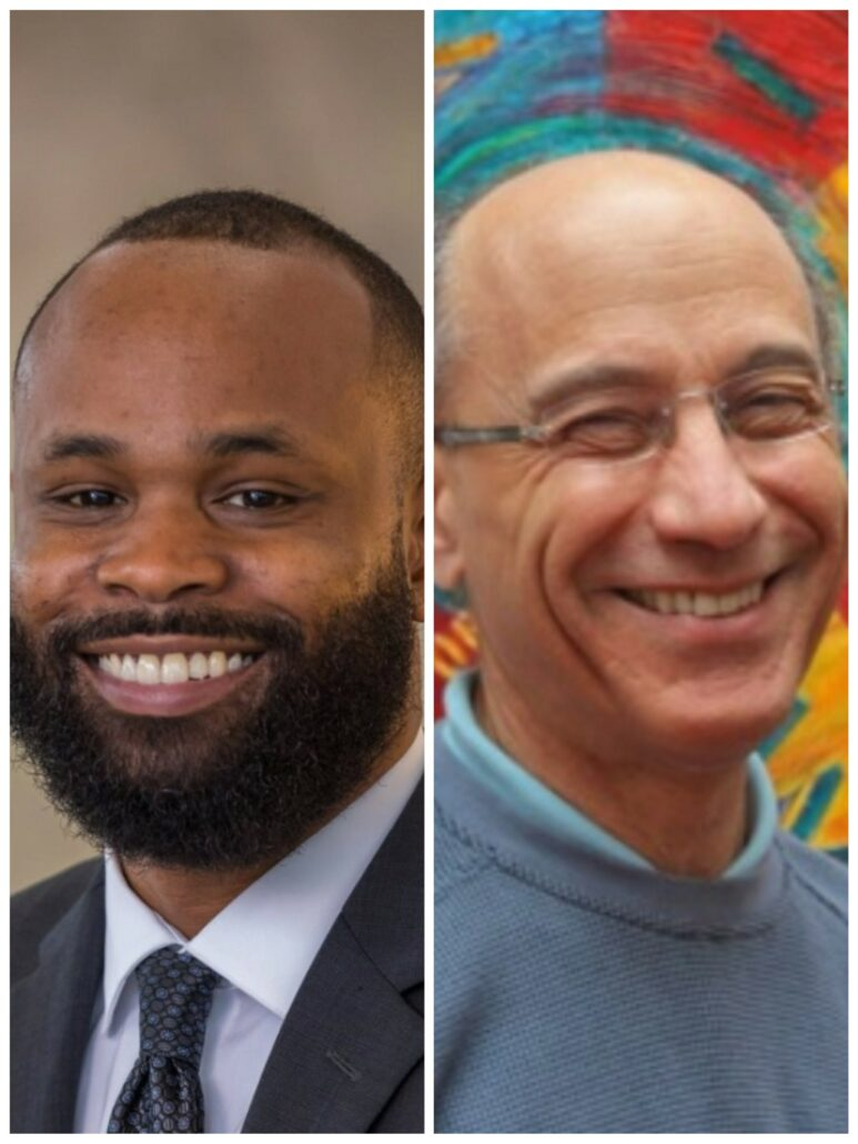 Doctor Joshua Bartholomew and Rabbi Michael Zedek